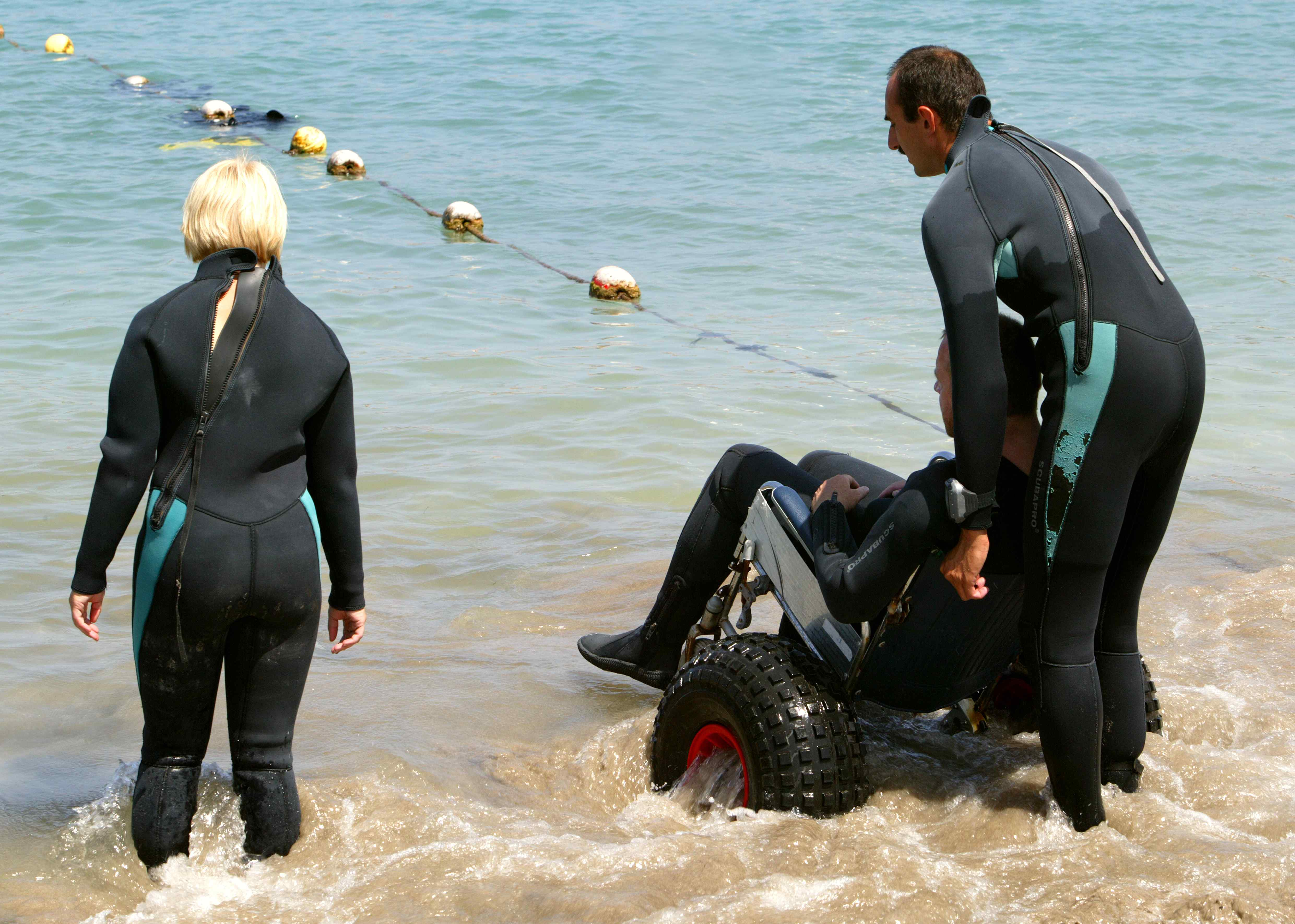 Buceo red